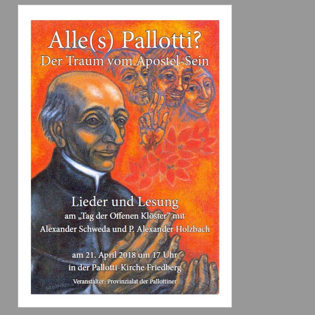 Konzertlesung in der Pallottikirche Friedberg