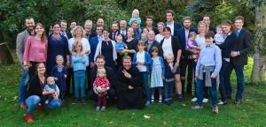 Bruder Matthias Terhorst mit Familie