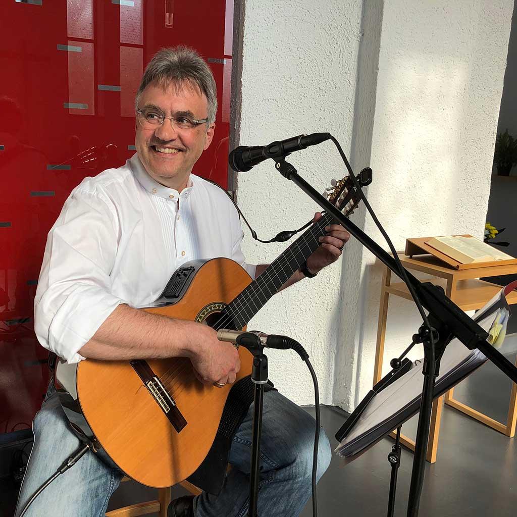 Liedermacher Alexander Schweda