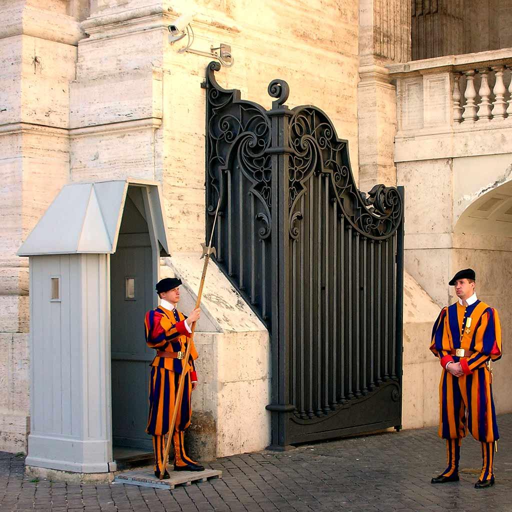 Schweizer Garde Vatikan