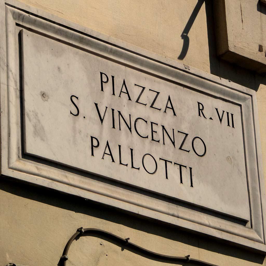Piazza S. Vincenzo Pallotti Rom