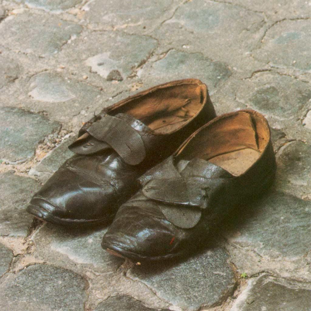 Vinzenz Pallottis abgetragene Schuhe
