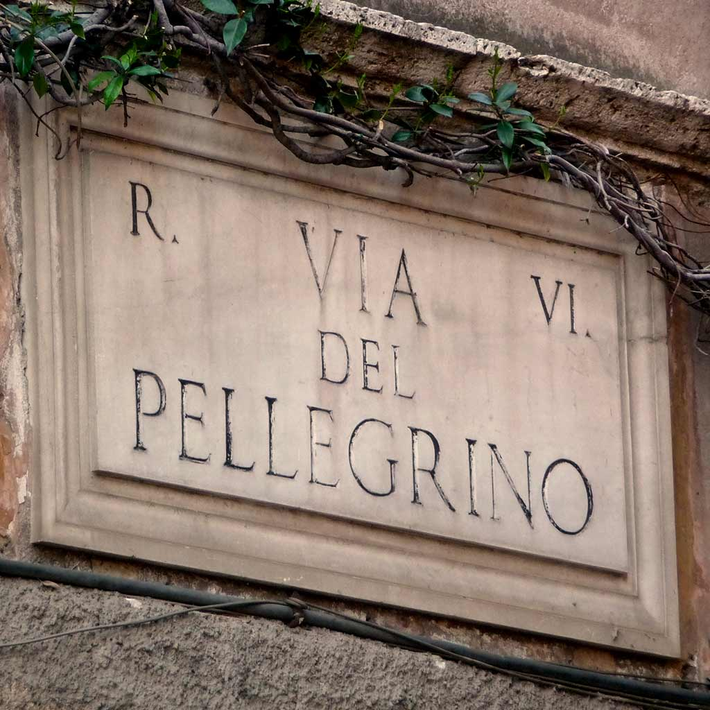 Via del Pellegrino