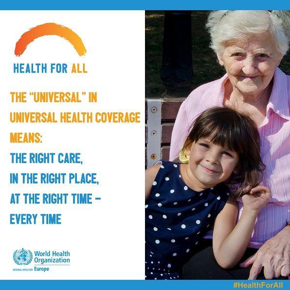 Allgemeine Gesundheitsversorgung für alle