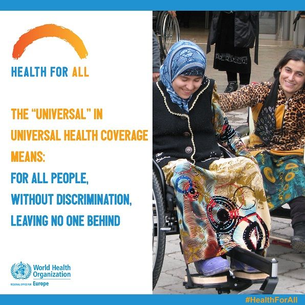 Health for all! World Health Day 2018