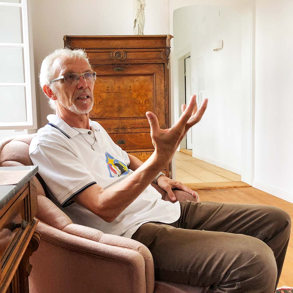 Coenaculum Konstanz Pater Fritz Kretz SAC