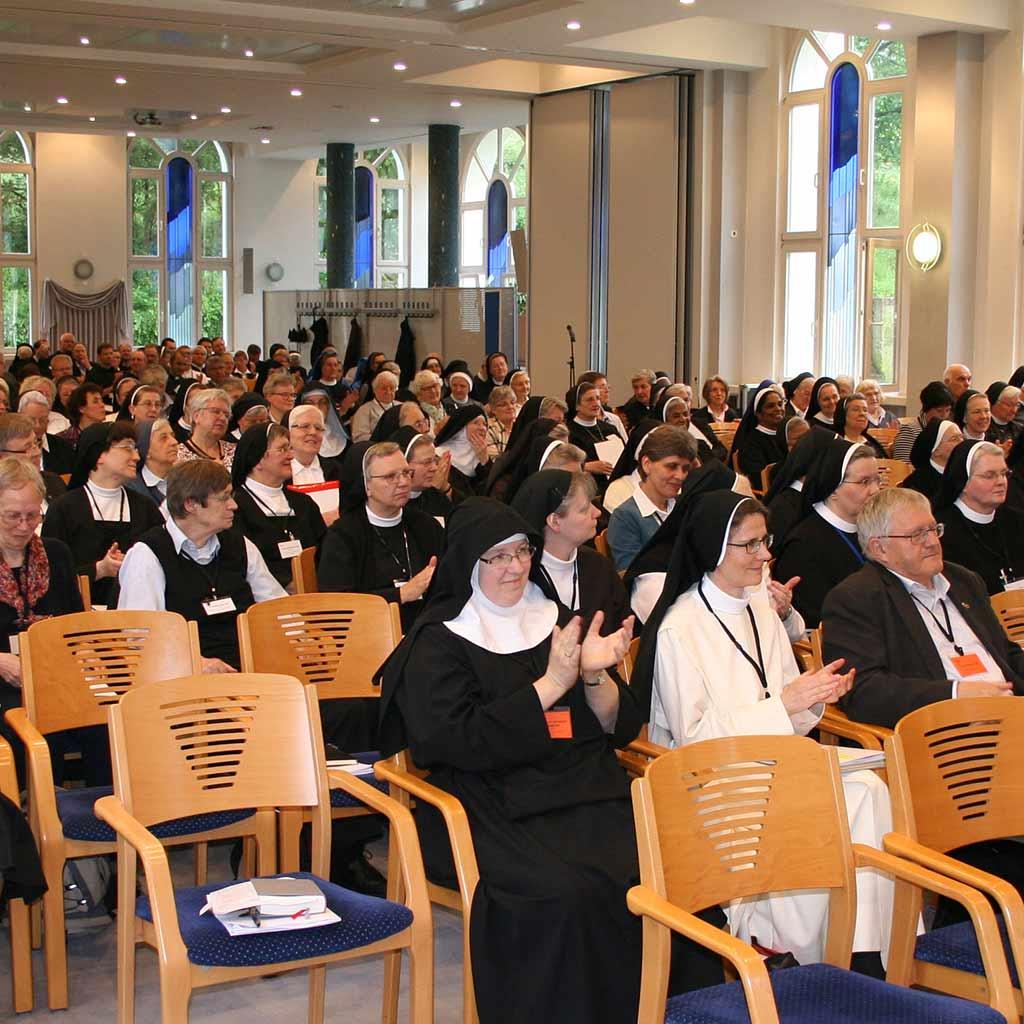 RepräsentantInnen von 19.000 Ordensleuten in Deutschland