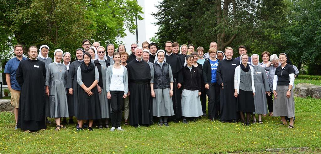 Noviziatsschule der Orden in Friedberg 2018