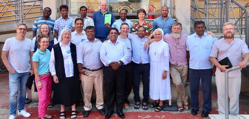 Treffen der Mission in Rom