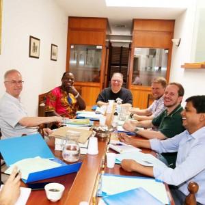 Treffen des Sekretariat des Apostolates im Rom
