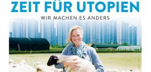 """Filmplakat """"Zeit für Utopien - Wir machen es anders"""""""