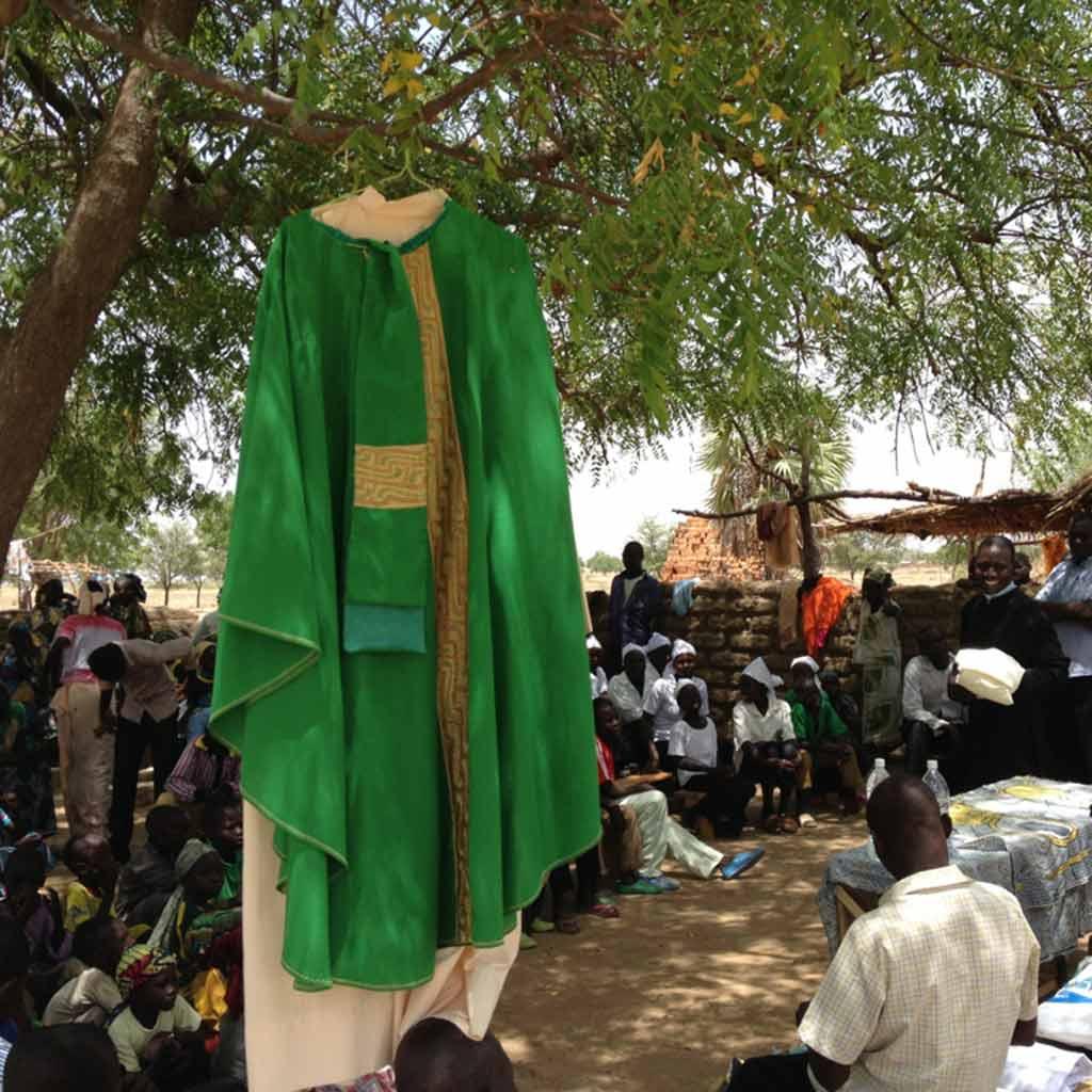 Sonntagsgottesdienst in Kamerun