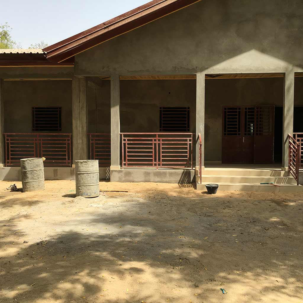 Kinderheim im Bau