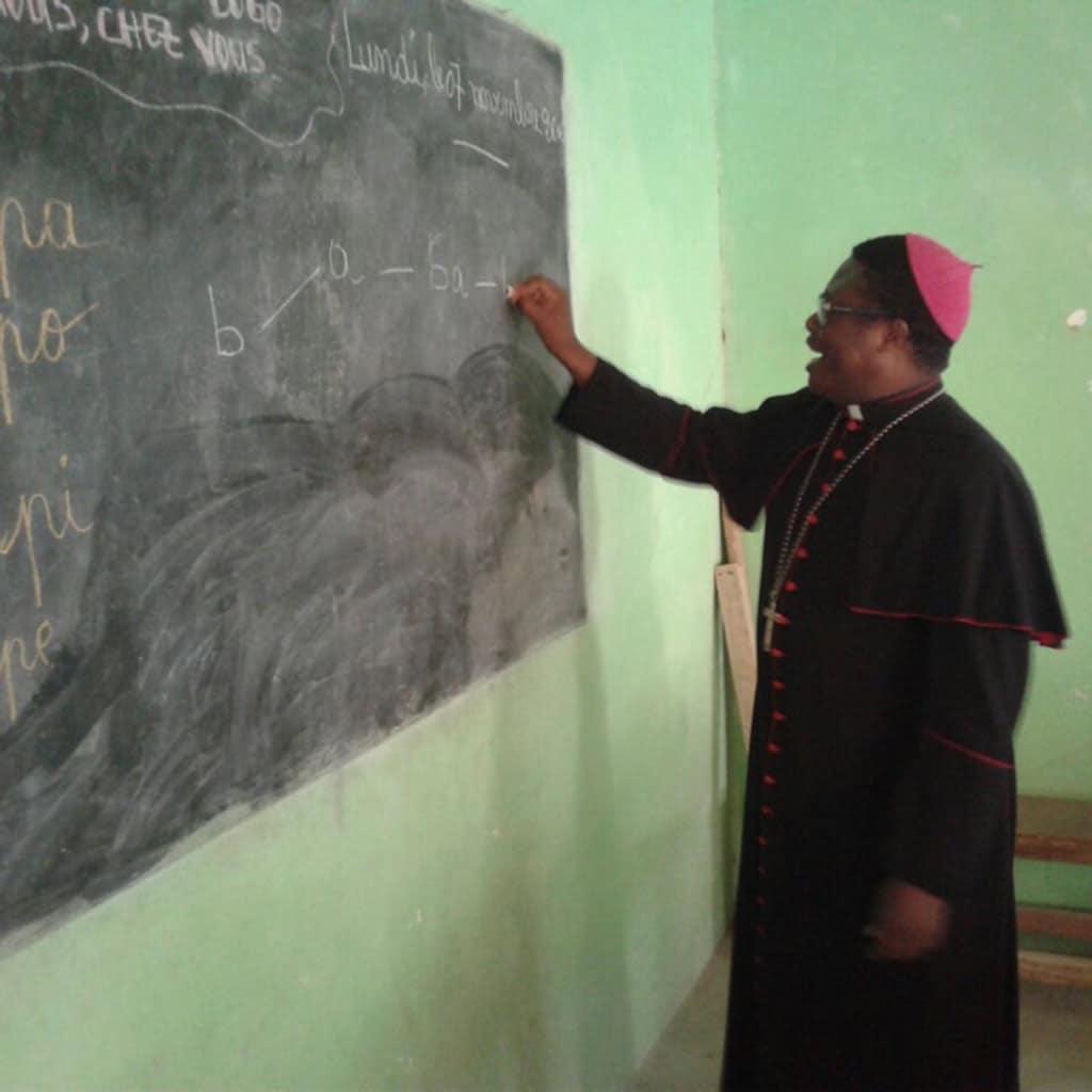 Besuch in der kirchlichen Grundschule in Bogo
