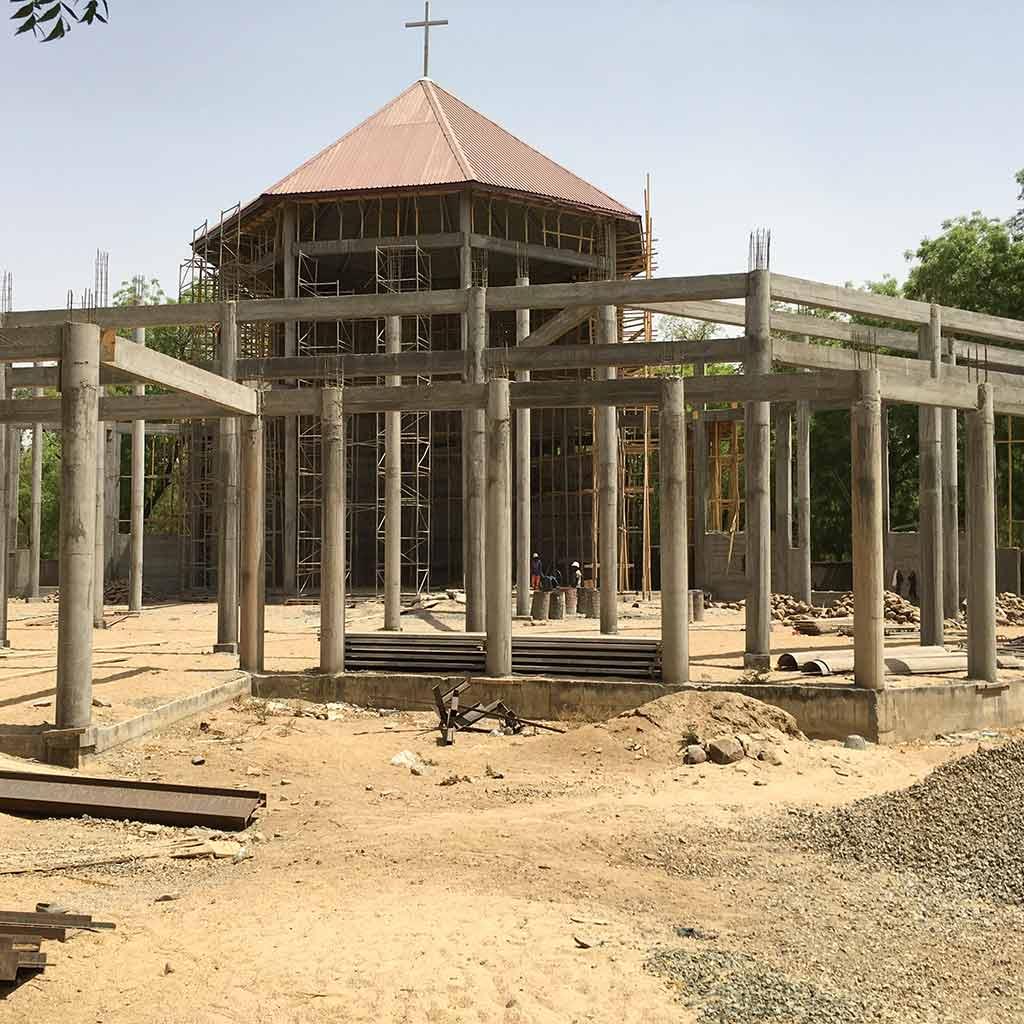 Die Bischofskirche der Diözese Maroua-Makolo