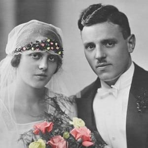 Ehepaar vor 100 Jahren