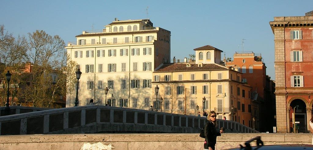 Ponte Sisto Rom - Generalat der Pallottiner