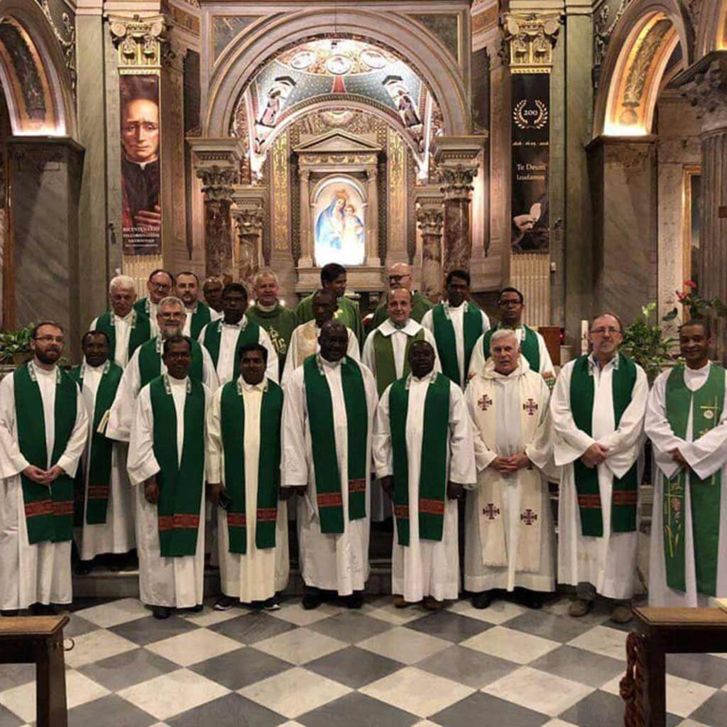 Treffen in Rom mit Mitbrüdern aus aller Welt
