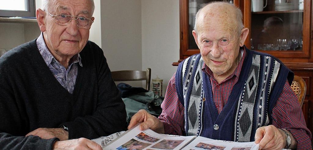 Bruder Berthold Erfort SAC und Bruder Ludwig Günther SAC