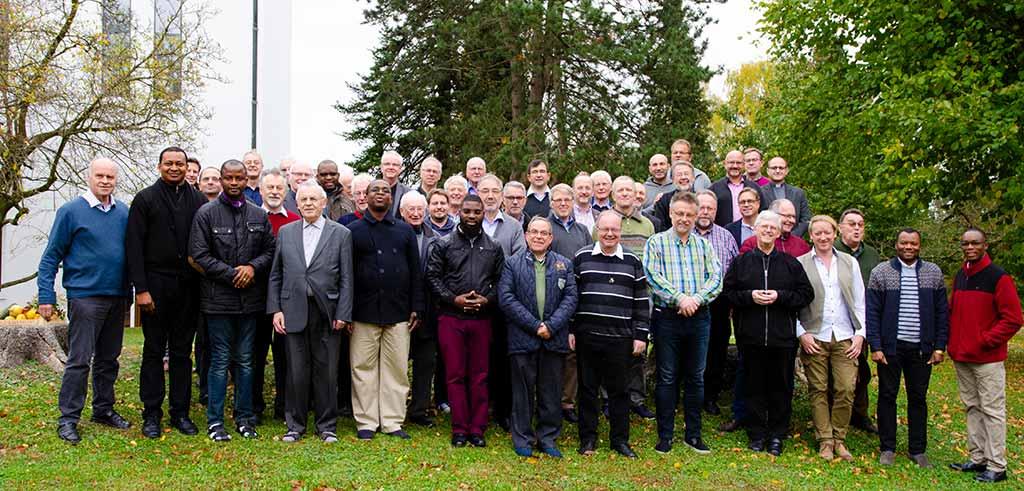 Pallottiner - Mitbrüder bei der Provinzversammlung 2018