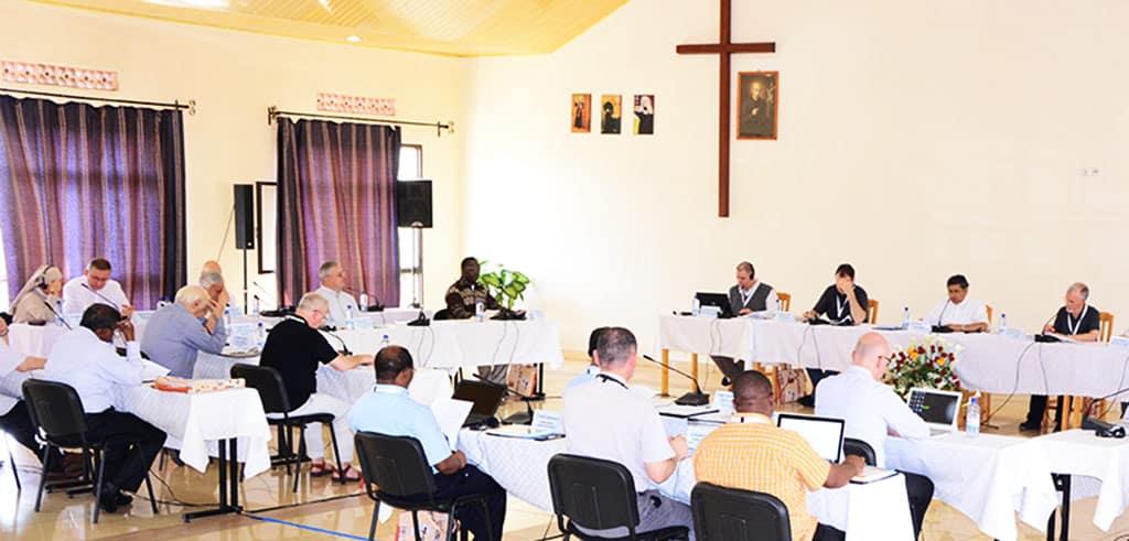 Zusammenkunft der höheren Oberen 2018 in Kigali