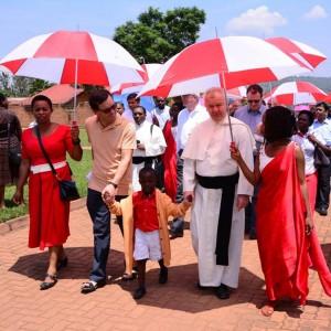Gottesdienst am pallottinischen Missionssonntag in Kigali