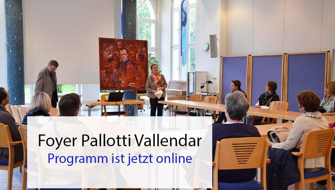 Forum Pallotti Vallendar Halbjahresprogramm 2019