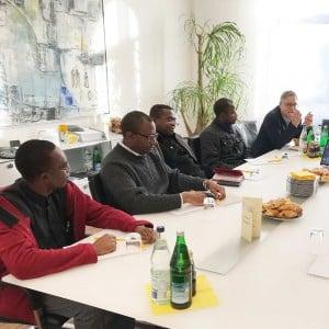Gespräch mit Missions-Partnern in Augsburg