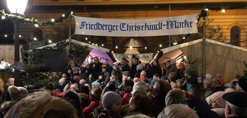 Friedberger Weihnachtsmarkt Eröffnungsveranstaltung 2018