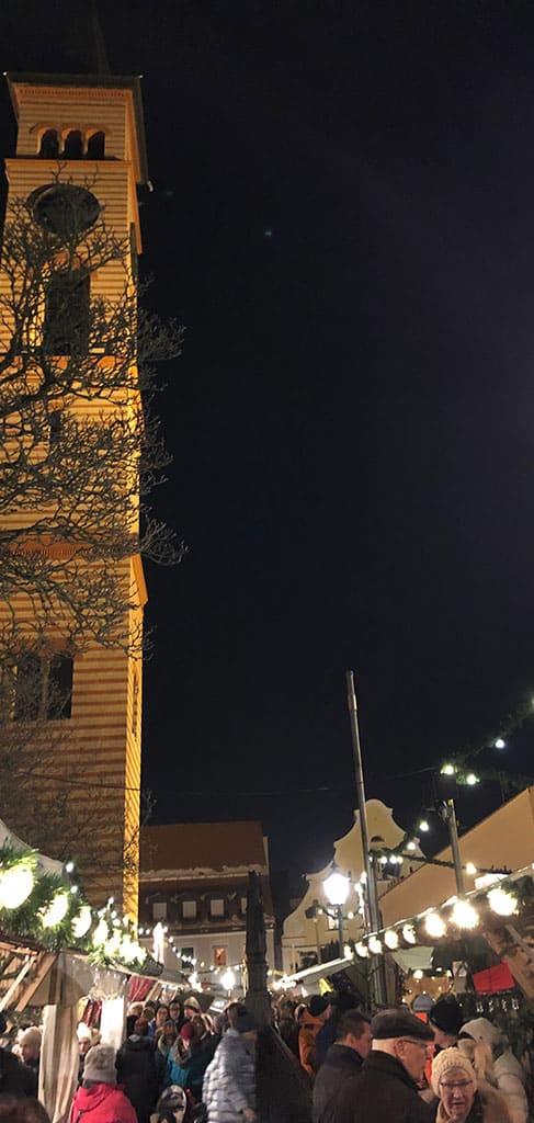 Rund um St. Jakob im bayerischen Friedberg