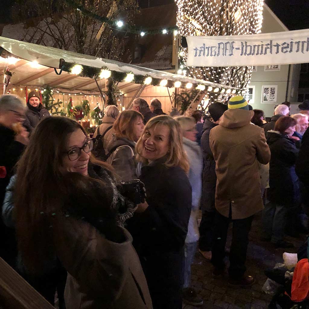 Friedberger Markt im Advent