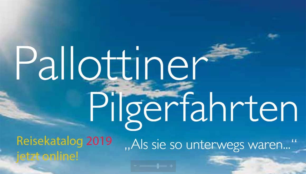Katalog Pallottiner Pilgerfahrten 2019