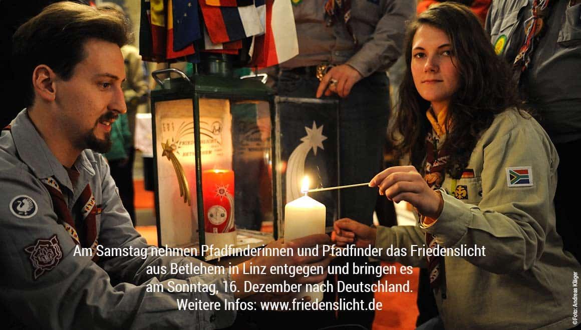 Pallottiner unterstützen Friedenslicht aus Betlehem