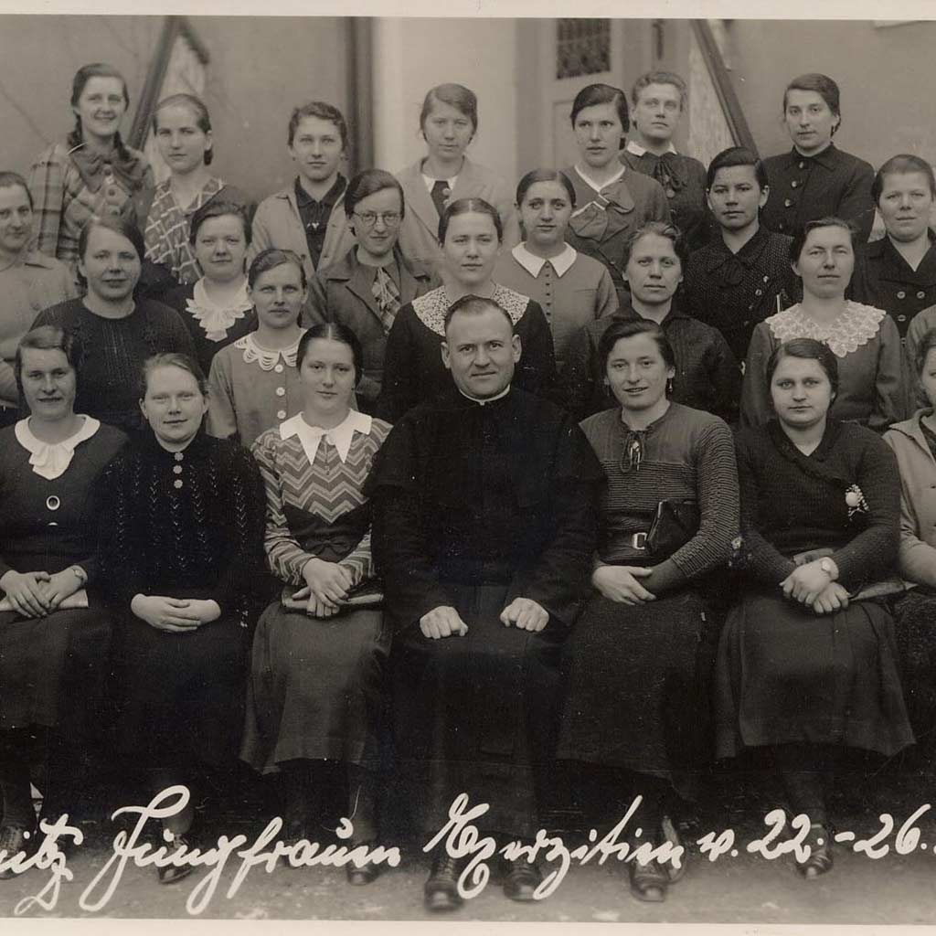Exerzitien mit Pater Richard Henkes 1936 in Branitz