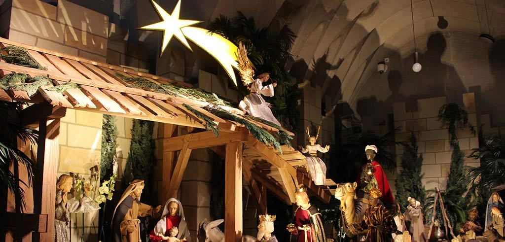 Weihnachtskrippe der Pallottiner in St. Marien Limburg