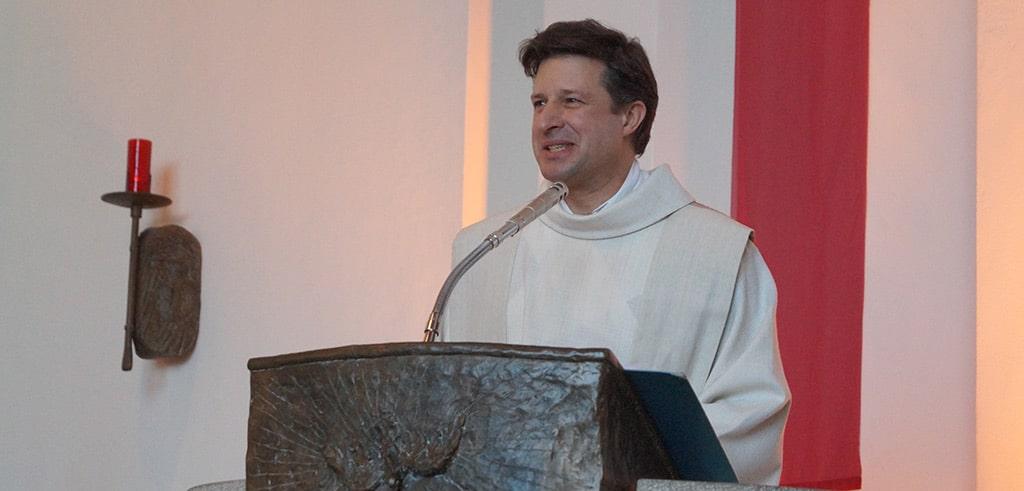 Pater Jürgen Heite SAC beim Pallottifest 2019 in Altenhudem