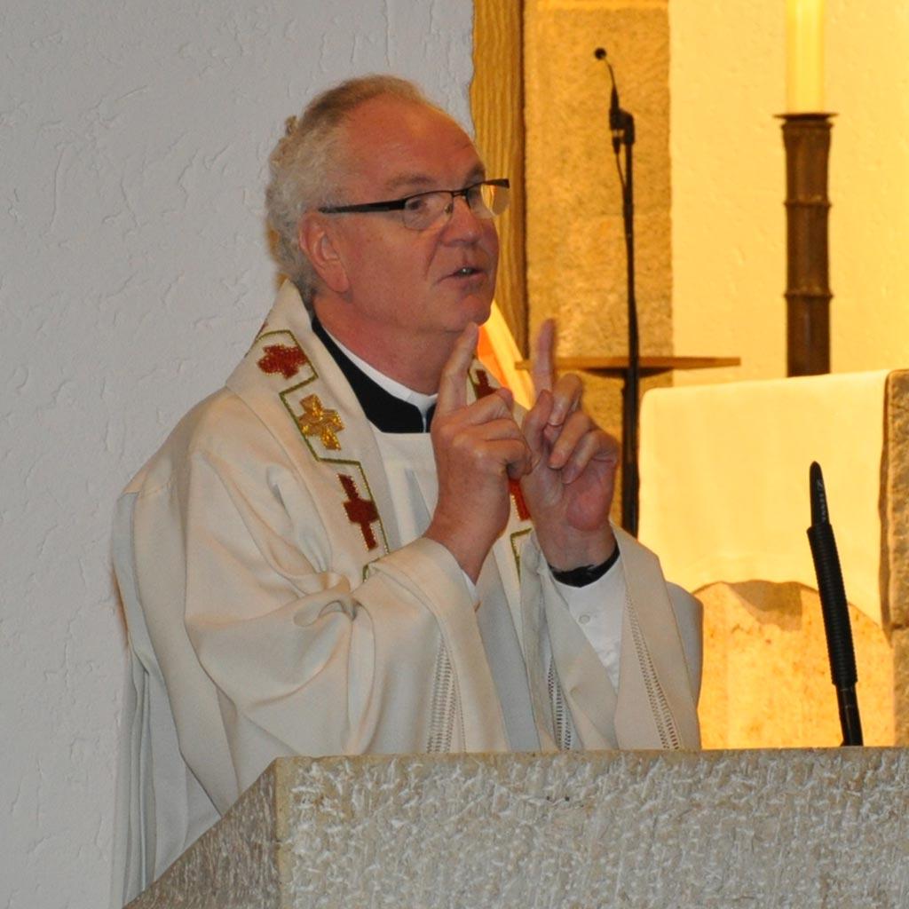 Pater Alexander Holzbach predigt
