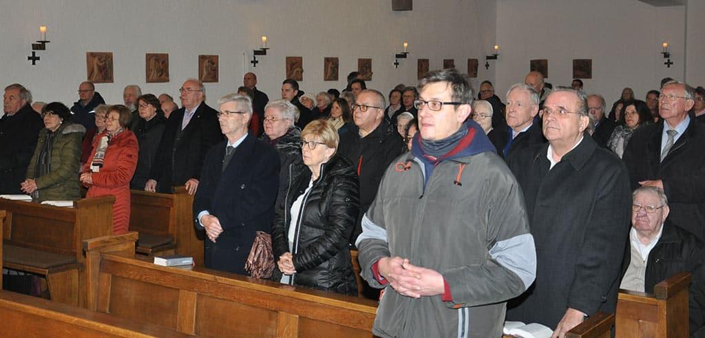 Vesper der Freisinger Pallottiner zum 100-jährigen Jubiläum