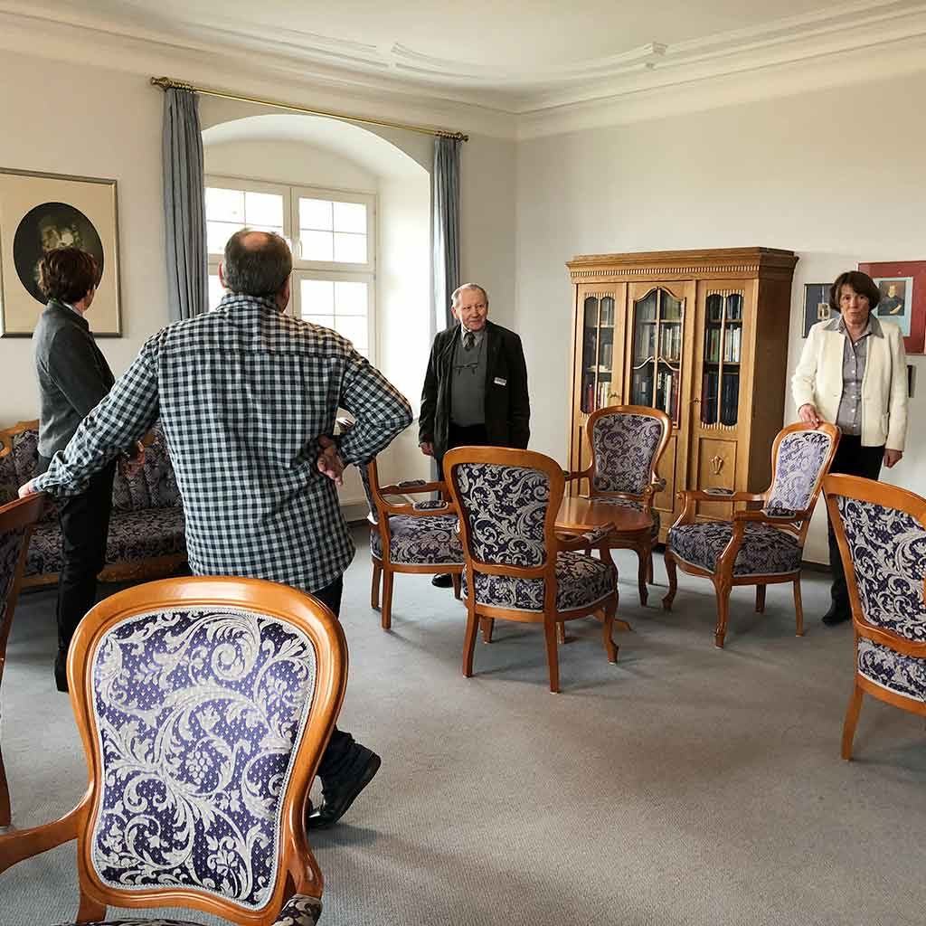 Droste-Zimmer auf Schloss Hersberg