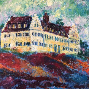 Schloss Hersberg am Bodensee Gemälde