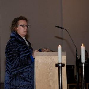 Frau Monika Neudert Vorsitzende Verein Selige Märtyrer von Dachau