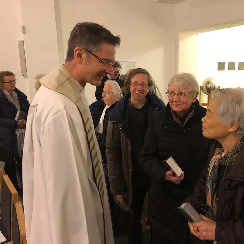 Pallottinerinnen aus München und Theresienschwestern aus Mering