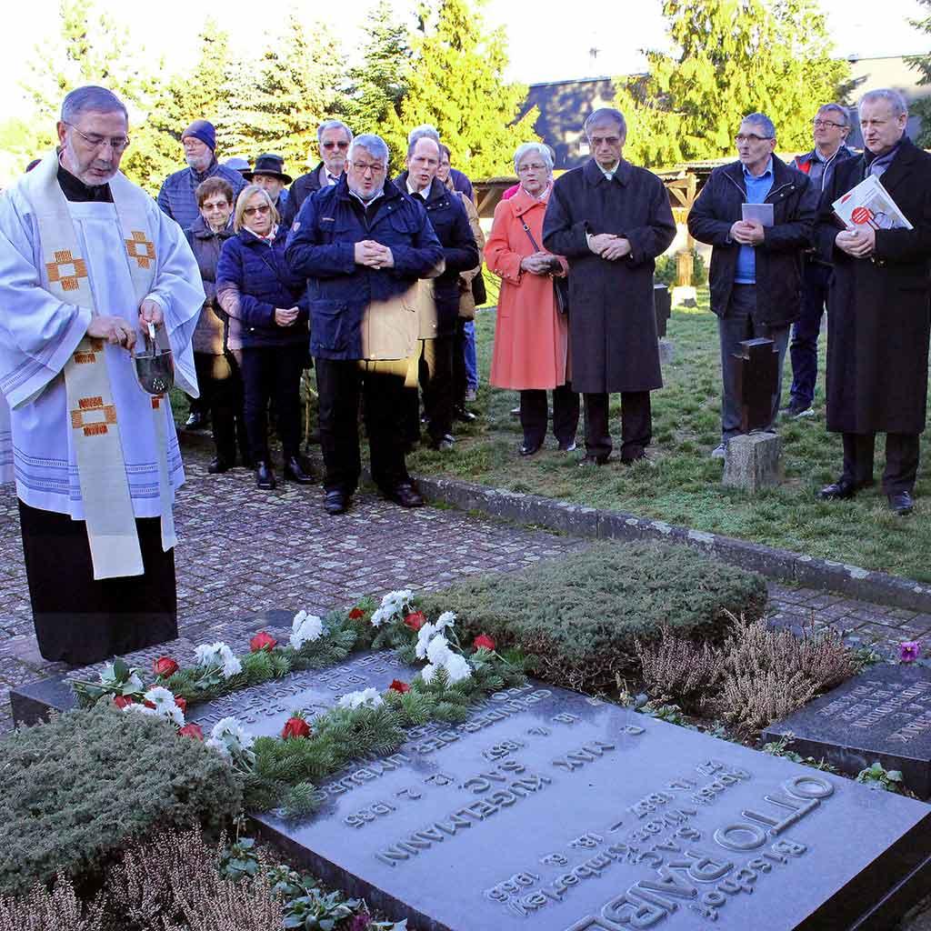 Gedenken zum 74. Todestag von Pater Richard Henkes
