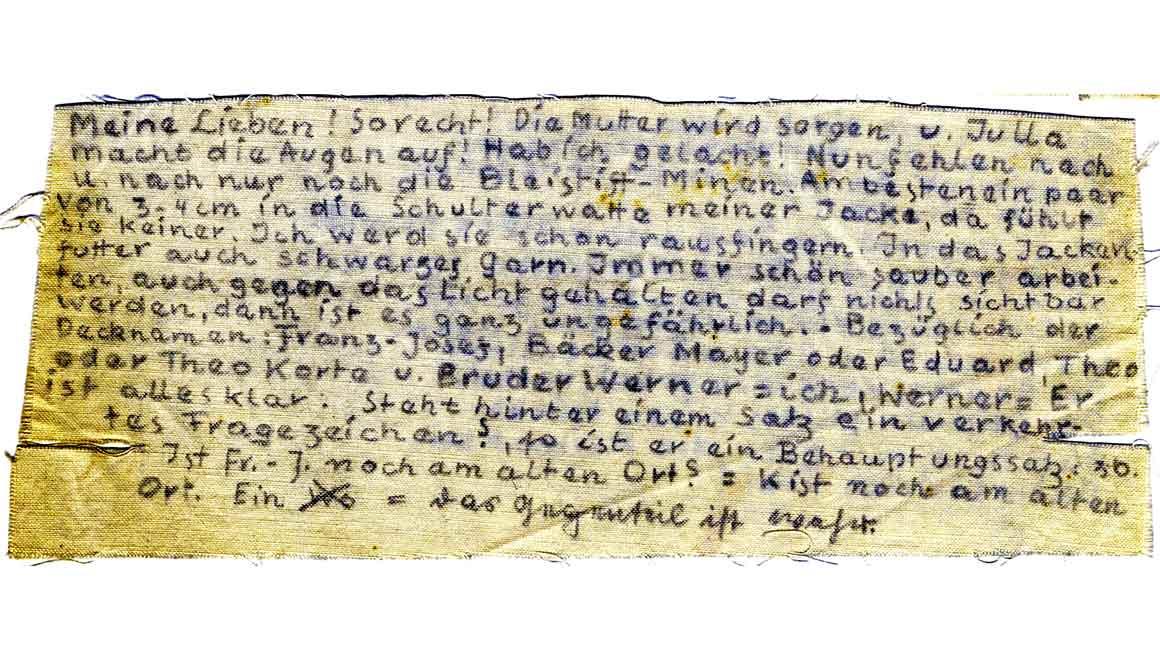 Aus dem Provinzarchiv der Pallottiner: Kassiber aus Gestapohaft