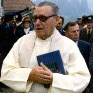 Pallottinerpater Wilhelm Poieß SAC