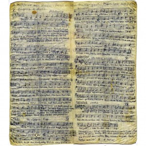 Von Pater Wilhelm Poieß SAC komponierte Messe