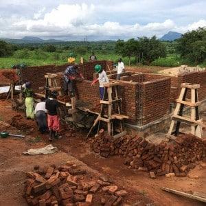 Pfarrhaus der Pallottiner in Kaphatika Malawi