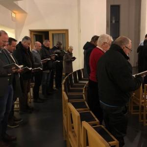 Vesper der Pallottiner in der Pallotti-Kirche
