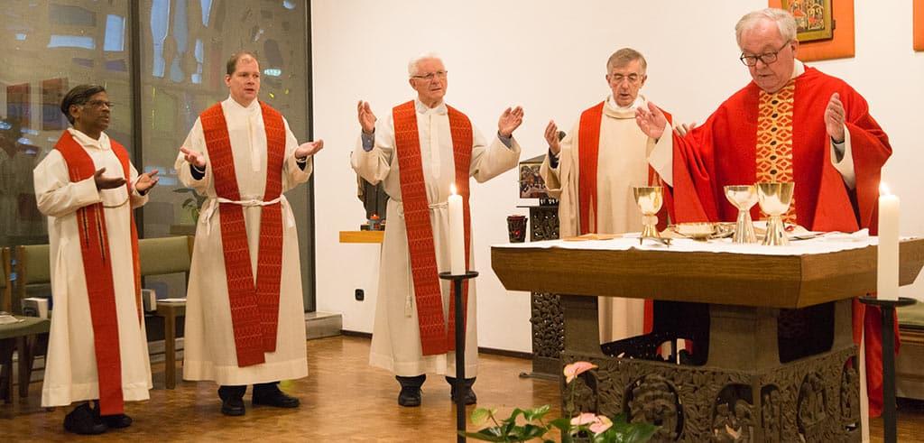 Gottesdienst zum Gedenken an Pater Richard Henkes