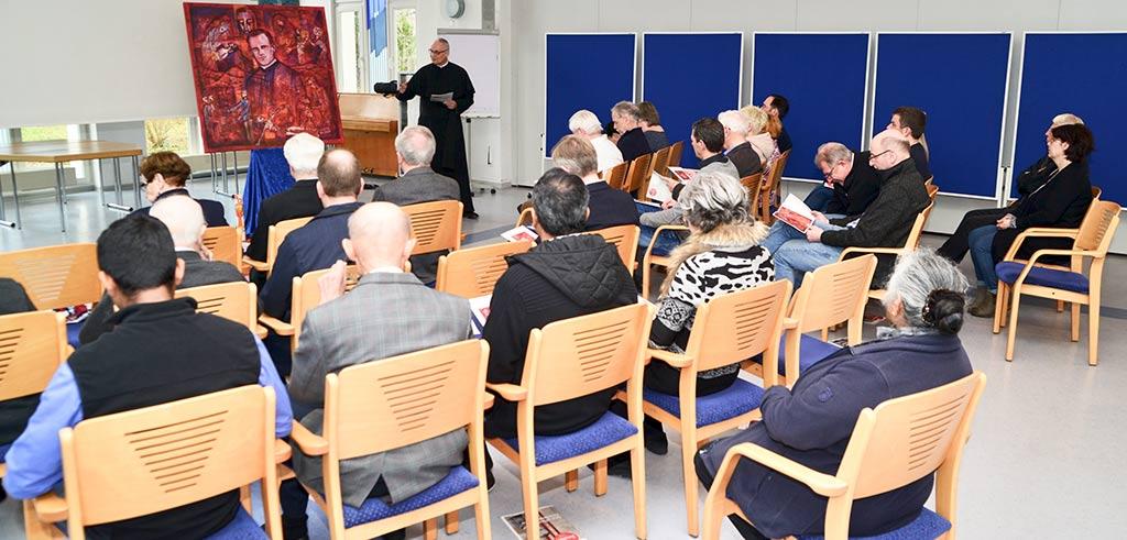 Gedenktag zu Ehren von Pater Richard Henkes in Vallendar
